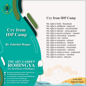 Cry from IDP Camp