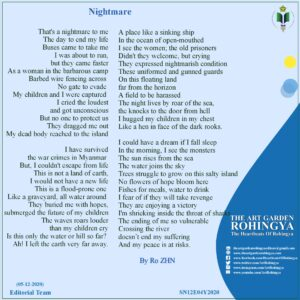 Nightmare | A poem by Ro ZHN