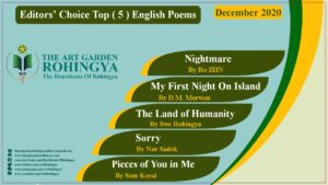 Editors' Choice Top ( 5 ) English Poems | December 2020
