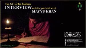The Art Garden Rohingya Interview With the poet and artist Mayyu Khan