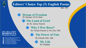Editors' Choice Top (5) English Poems